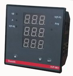 Ampere Volt Frequency Meter