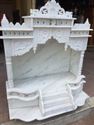 White Pure Marble Temple