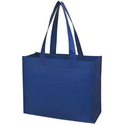 Navy Blue Non Woven Food Bag