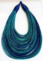 Designer Ladies Silk Thread Jewellery