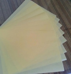Honey & Yellow Silicone Coated Glassine Paper, GSM: 55-62
