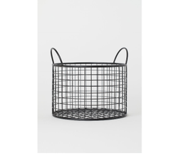Beautiful Metal Storage Basket