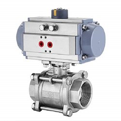 Actuator Operated Screwed End Ball Valve