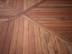 Brown Deck Flooring