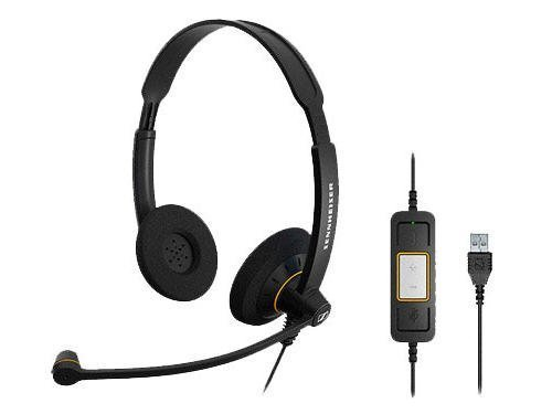 Sennheiser SC 60ML USB Headset with extremely excellent noise cancellations