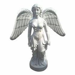Fiber Angel Statue
