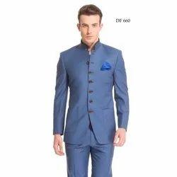 Diwan Saheb DF-660 Blue Bandhgala Suit