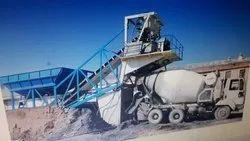 Problem concrete batching plant