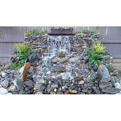 Stone Natural Rock Water Fountain