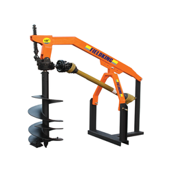 Fieldking Post Hole Digger, For Agriculture & Farming