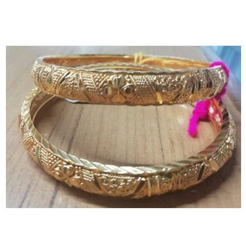 Party Wear Fashion Designer Brass Bangles, Packaging Type: Box