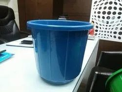 Open Plastic Dustbin