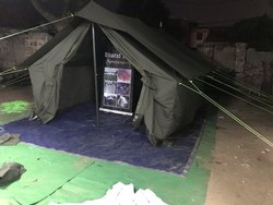 labour tent