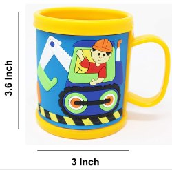 Bridge2shopping Printed Embossed Mug, Capacity: 200 Ml, Size/Dimension: 3 X 3.6 Inch