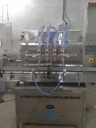 Automatic Hand Wash Liquid Filling Machine 50ml To 5000ml Capacity