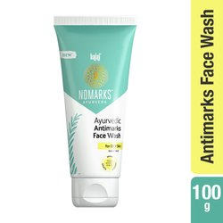 Bajaj Nomarks 100 gm Ayurvedic Antimarks Face Wash For Oily Skin, For Personal
