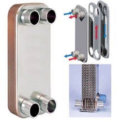 Brazed Plate Heat Exchanger 1 Ton