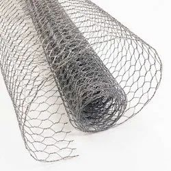 Galvanized Iron Chicken Wire Mesh, for Fencing, Thickness: 2-5 Mm