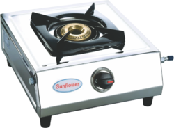 SUNFLOWER STAINLESS STEEL Single Burner Stove