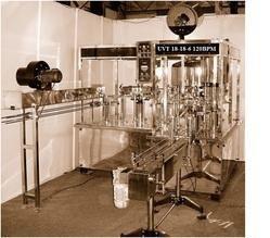 Automatic Bottle Filling Machine UVT 18-18-6 120BPM