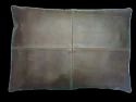 Landscape Leather Cushion Cover