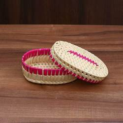 Palm Leaf Square Gift Box At Rs 150 Piece Palm Leaf Boxes Id