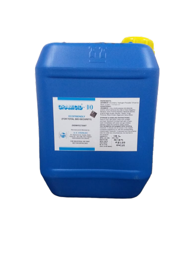 Disinfectant Chemical-GRAMICID-10-Hydrogen Peroxide & Silver