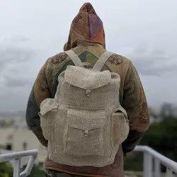 Hemp Sack Backpack