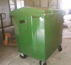 Blue MS Garbage Bin- 1100 ltr