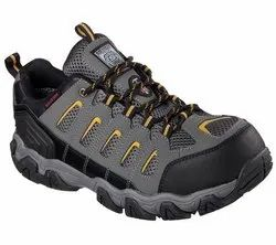 SKECHERS SAFETY SHOES 77051 DKGY