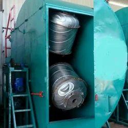 Single Station Roto Moulding Machine