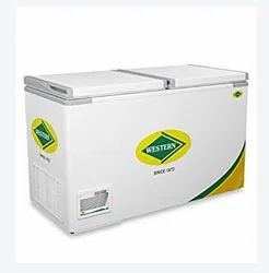 Top Open White Western Chest Freezer, Capacity: 100 L, Electric