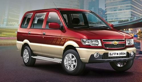 Tavera Car View Specifications Details Of Motor Cars By Bhoomi