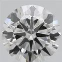 1.30ct Lab Grown Diamond CVD G VVS1 Round Brilliant Cut IGI Certified Stone