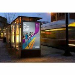 7-30 Days Digital Bus Stop Advertising Service