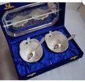 Silver Plated Diwali Gift Bowl Set
