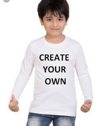 Full Sleeves Printed T Shirt