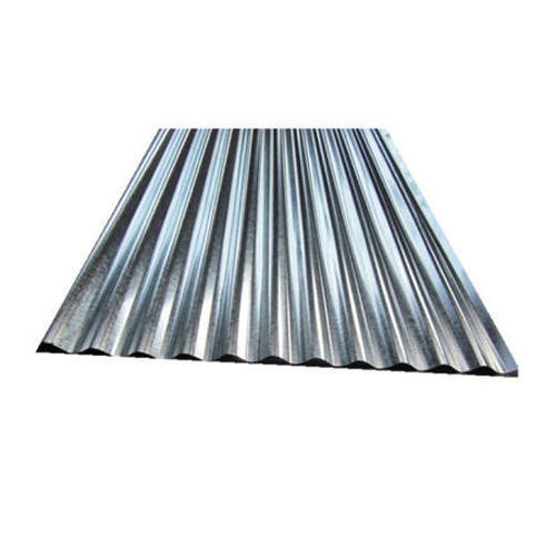 0 25 0 45 Mm 6 12 Feet Silver Gi Roofing Sheet Rs 3660 Bundle Aaka Industry Sheet Manufacturing Id 20243104748