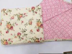 Reversible Cotton Dohar Floral Print