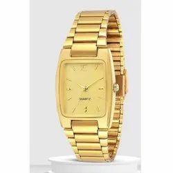 Mens Golden Wrist Watches