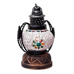 Handmade Glass Real Lantern