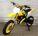 Yellow 50 CC Dirt Bike