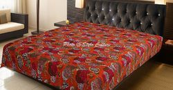 Kantha Blanket Throw
