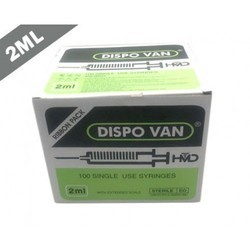 Disoo van注射器,用于临床