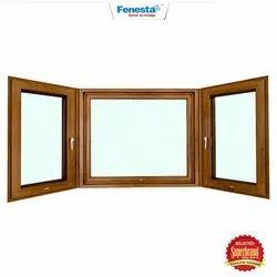 Fenesta Brown UPVC Storm Window