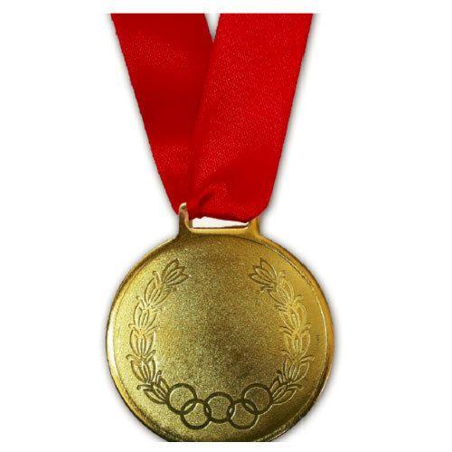 Gold Plated Custom Medal