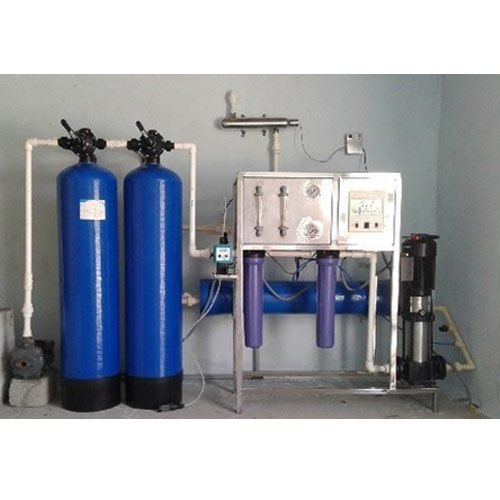 Semi Automatic FRP RO Water Plant, Capacity: 200-500 Liter/Hour