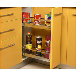 150mm Stainless Steel NKF921 Kitchen Bottle Pullout