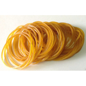 Honey Colored Rubber Bands