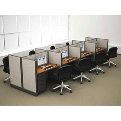 Wooden Office Cubicle, For New